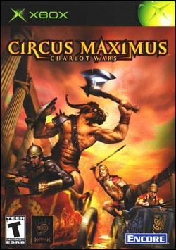 Circus Maximus: Chariot Wars (Xbox) by Encore Software Box Art