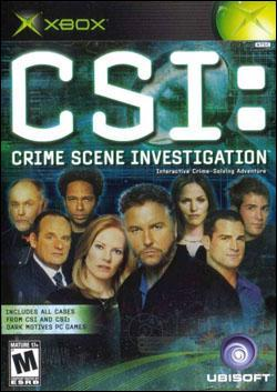 CSI:  Crime Scene Investigation (Xbox) by Ubi Soft Entertainment Box Art