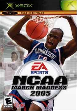 NCAA March Madness 2005 (Xbox) by Electronic Arts Box Art