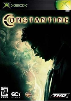 Constantine (Xbox) by THQ Box Art