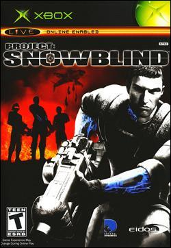 Project:  Snowblind Box art