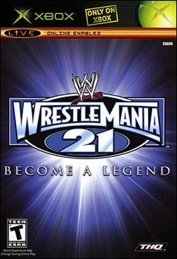 WWE WrestleMania 21 Box art