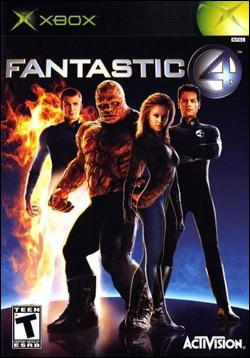 Fantastic Four Box art