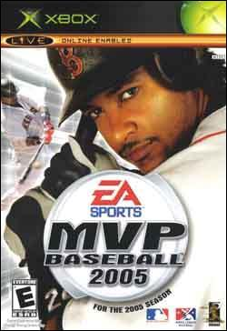 MVP Baseball 2005 Box art
