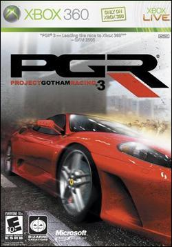 Project Gotham Racing 3 (Xbox 360) by Microsoft Box Art
