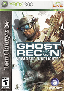 Tom Clancy's Ghost Recon: Advanced Warfighter (Xbox 360) by Ubi Soft Entertainment Box Art