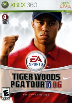 Tiger Woods PGA Tour 06 (Xbox 360) by Electronic Arts Box Art