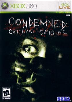Condemned: Criminal Origins (Xbox 360) by Sega Box Art