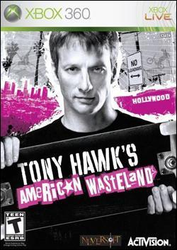 Tony Hawk's American Wasteland Box art