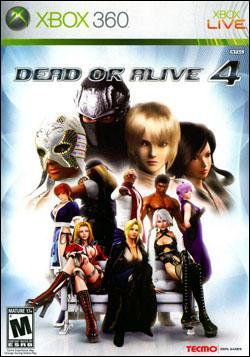 Dead or Alive 4 Box art