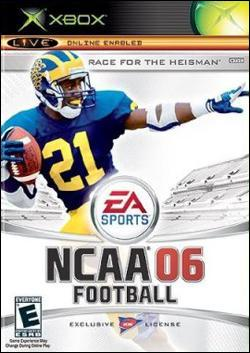 NCAA Football 06 Box art