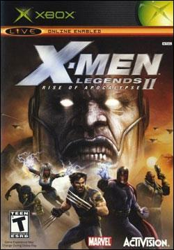 X-Men Legends II: Rise of Apocalypse (Xbox) by Activision Box Art