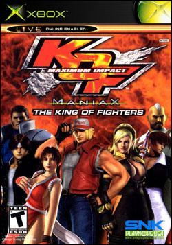 King of Fighters: Maximum Impact Maniax (Xbox) by SNK NeoGeo Corp. Box Art