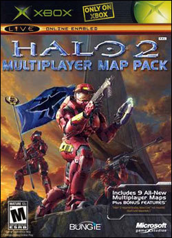 Halo 2 Multiplayer Map Pack Box art