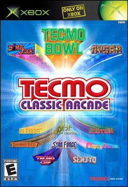 Tecmo Classic Arcade (Xbox) by Tecmo Inc. Box Art