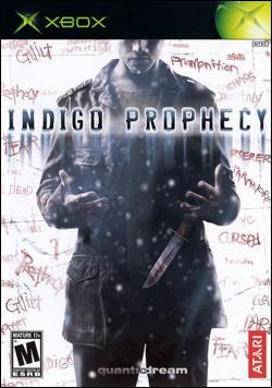 Indigo Prophecy (Xbox) by Atari Box Art