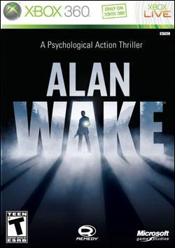 Alan Wake (Xbox 360) by Microsoft Box Art