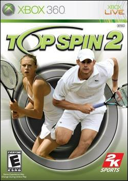 Top Spin 2 (Xbox 360) by 2K Games Box Art