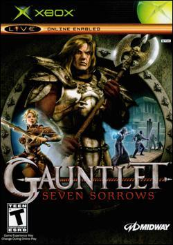Gauntlet: Seven Sorrows (Xbox) by Midway Home Entertainment Box Art