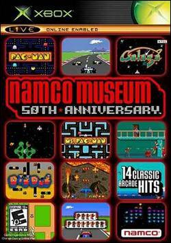 Namco Museum 50th Anniversary Arcade Collection Box art