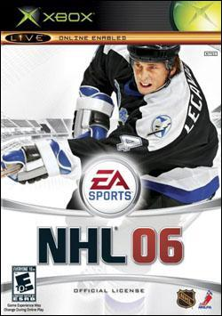 NHL 06 (Xbox) by Electronic Arts Box Art