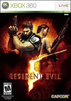 Resident Evil 5 (Xbox 360) by Capcom Box Art