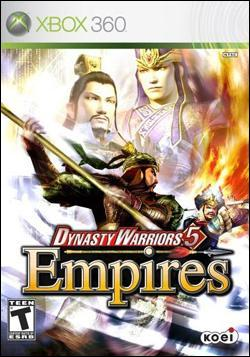 Dynasty Warriors 5: Empires (Xbox 360) by KOEI Corporation Box Art