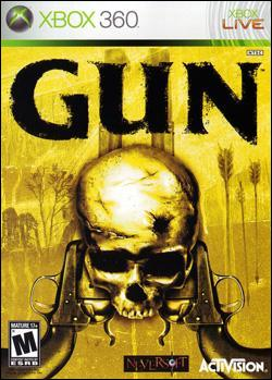 Gun (Xbox 360) by Activision Box Art