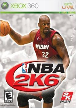 NBA 2K6 (Xbox 360) by 2K Games Box Art