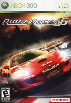Ridge Racer 6 Box art