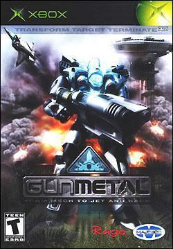 Gunmetal (Xbox) by Majesco Box Art
