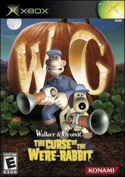 Wallace & Gromit: The Curse of the Were-Rabbit (Xbox) by Konami Box Art