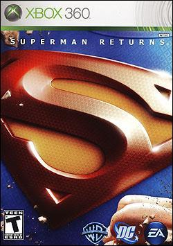 Superman Returns (Xbox 360) by Electronic Arts Box Art