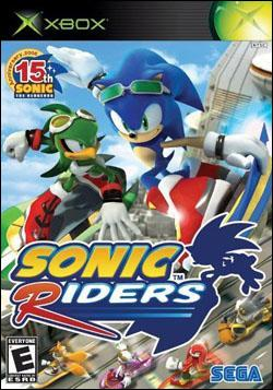 Sonic Riders (Xbox) by Sega Box Art