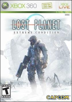 Lost Planet: Extreme Condition (Xbox 360) by Capcom Box Art