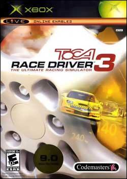 TOCA Race Driver 3 (Xbox) by Codemasters Box Art