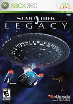 Star Trek: Legacy (Xbox 360) by Bethesda Softworks Box Art