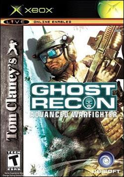 Tom Clancy's Ghost Recon Advanced Warfighter (Xbox) by Ubi Soft Entertainment Box Art