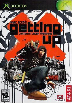 Marc Ecko's Getting Up: Content Under Pressure (Xbox) by Atari Box Art