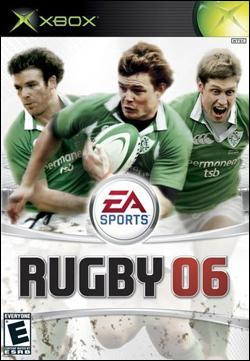 Rugby 06 (Xbox) by Electronic Arts Box Art