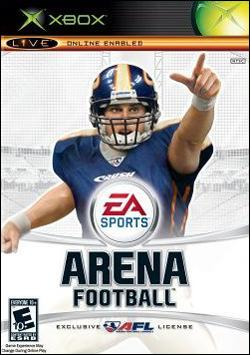 Arena Football (Xbox) by Electronic Arts Box Art