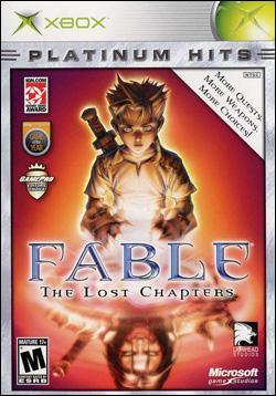 Fable: The Lost Chapters (Xbox) by Microsoft Box Art