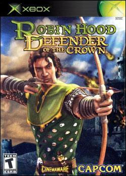 Robin Hood: Defender of the Crown (Xbox) by Capcom Box Art