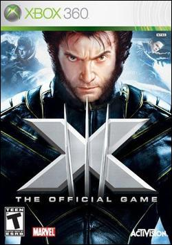 X-Men The Official Game Box art