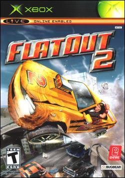 Flatout 2 (Xbox) by Vivendi Universal Games Box Art