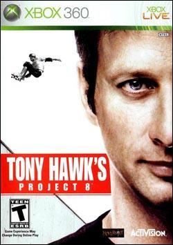 Tony Hawk's Project 8 Box art