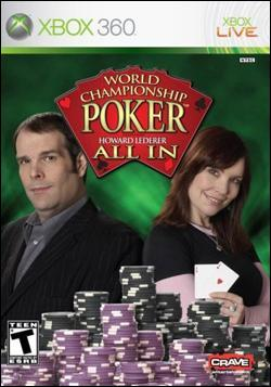 World Championship Poker: All In (Xbox 360) by Crave Entertainment Box Art