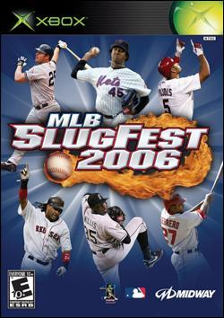MLB Slugfest 2006 (Xbox) by Midway Home Entertainment Box Art