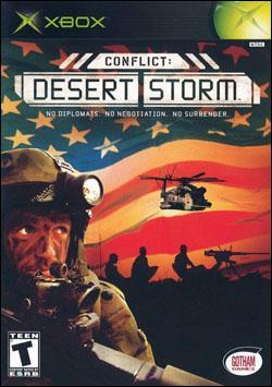 Conflict: Desert Storm (Xbox) by Gotham Games Box Art
