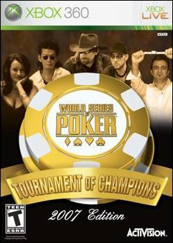 World Series of Poker: Tournament of Champions (Xbox 360) by Activision Box Art